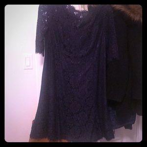 Navy blue lace dress- similar to kate Middleton!
